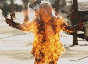 Вспыхнул как факел и сгорел заживо пожилой мужчина недалеко от Шахт
