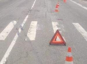 Молодой водитель «Рено» сбил 18-летнюю девушку на пешеходном переходе в Шахтах