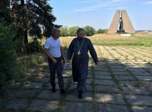 Храм построят на красинском мемориале «Жертвам фашизма» в Шахтах