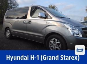 Продаётся ухоженный микроавтобус Hyundai