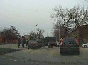 В Шахтах «девятка» врезалась в УАЗ, выскочивший с второстепенной дороги