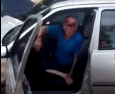 «Каскадер залетел с утра…». Предположительно нетрезвый водитель стал виновником ДТП в Шахтах