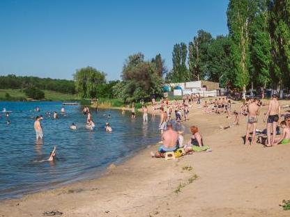 В Шахтах единственный городской пляж закрыли для купания