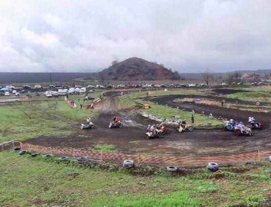 Шахтинский поселок Таловый стал масштабной мотоплощадкой