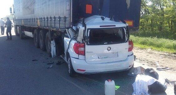 Страшная авария произошла недалеко от Шахт