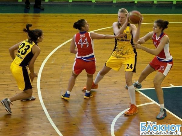 Баскетбольный клуб «Шахты» одержал победу над командой из Воронежа