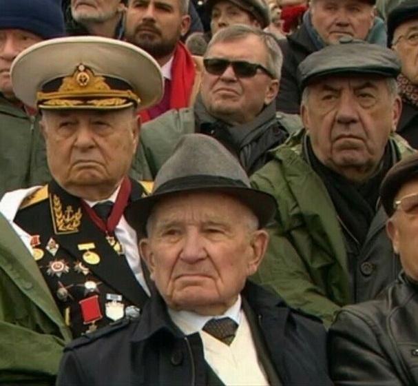 Шахтинский 94-летний ветеран впервые побывал на параде на Красной площади