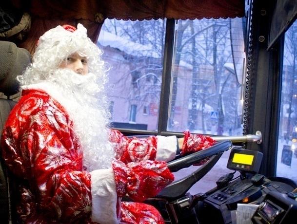 В новогоднюю ночь и Рождество в Шахтах будут ходить автобусы