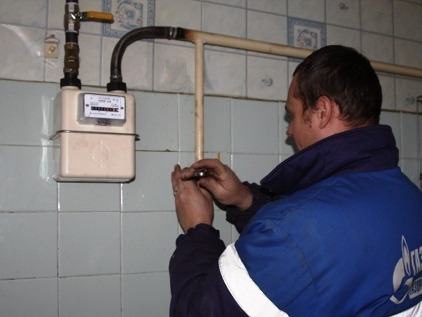 Замена газового счетчика чуть не закончилась для шахтинки инфарктом