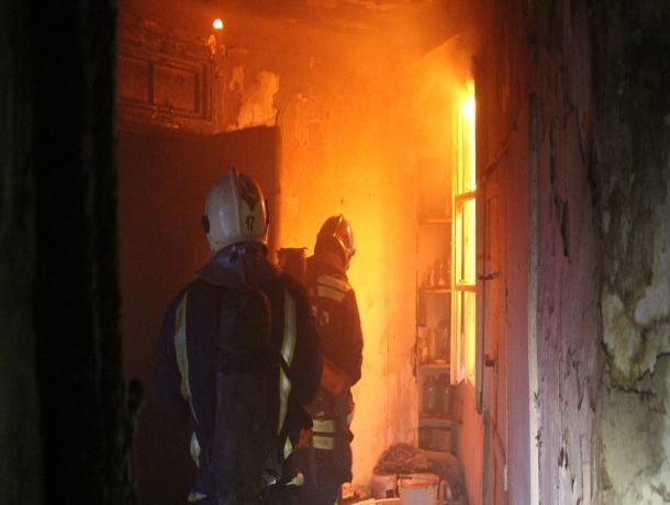 В Шахтах при пожаре погиб мужчина