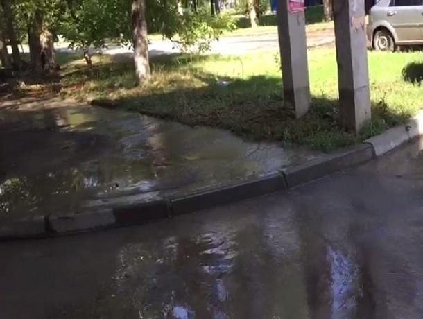 Двое суток нет воды в поселке ХБК из-за большого порыва