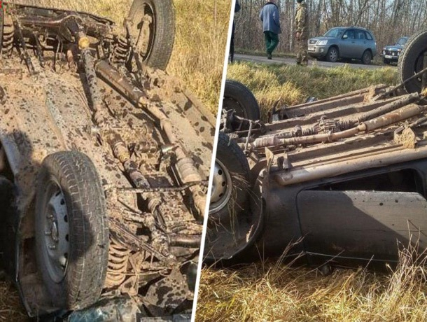 «Слетел в кювет и перевернулся»: в аварии погиб водитель