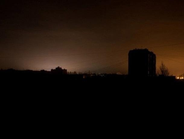 На отсутствие света жалуются жители двух улиц в Шахтах