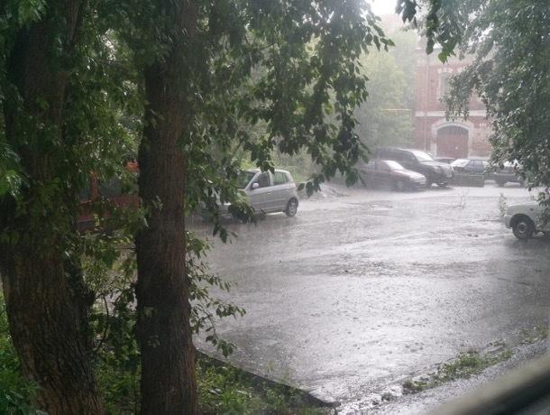 Шахтинцев просят быть осторожными: на Ростовскую область снова надвигается непогода