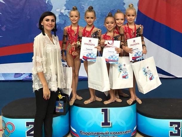 Пять шахтинских гимнасток стали победителями всероссийских соревнований