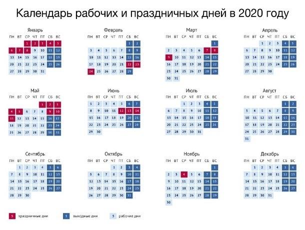 Как шахтинцы будут отдыхать в 2020 году: правительство утвердило календарь выходных