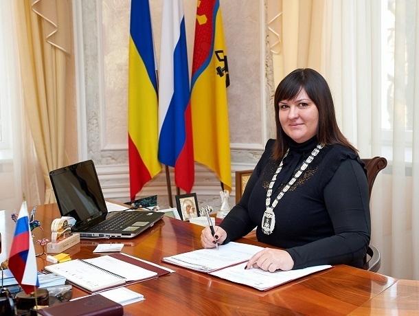 Ирина Жукова отчитается о результатах работы на посту председателя городской думы в Шахтах
