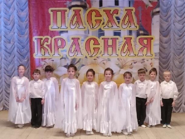 Малыши из детского сада № 21 победили на областном фестивале православной культуры