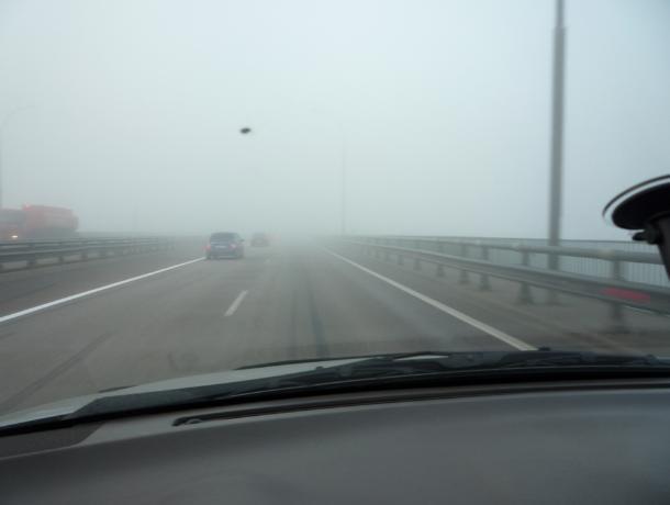 Шахтинских водителей предупреждают о возможном ухудшении видимости