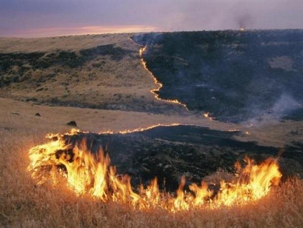 В Шахтах сохраняется чрезвычайная пожароопасность