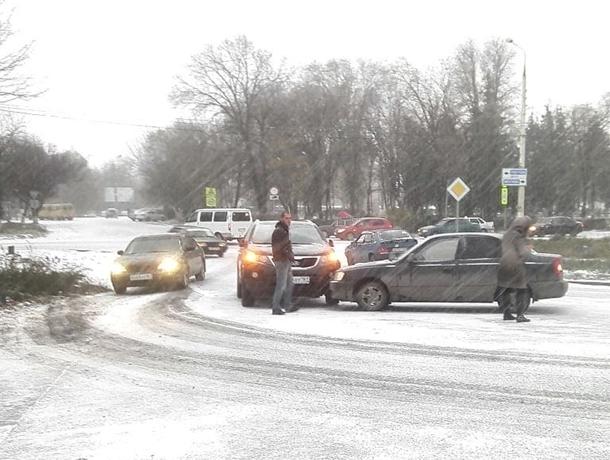 Зима принесла транспортный хаос в Шахты