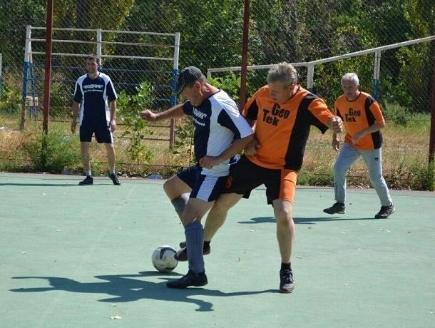 Команды Аюты, ХБК и Машзавода приняли участие в турнире ветеранов футбола в Шахтах
