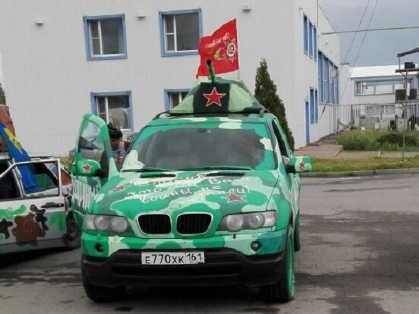 Автопробег в честь празднования 72 годовщины Победы стартовал в Шахтах
