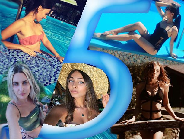 Топ-5 самых ярких красавиц, отдыхающих на пляже в Шахтах