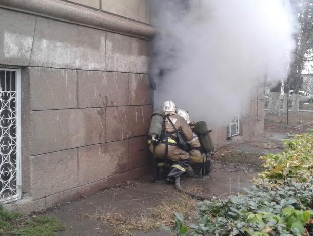 Сегодня в Шахтах горел автодорожный институт
