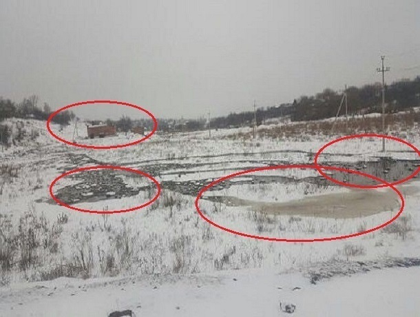 Несколько дней канализационные стоки города Шахт стекают в Грушевку