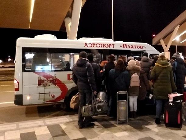 Из Шахт через аэропорт Платов ежедневно будут ходить 30 автобусов