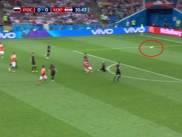 До последней минуты держал в напряжении шахтинских болельщиков матч Россия-Хорватия