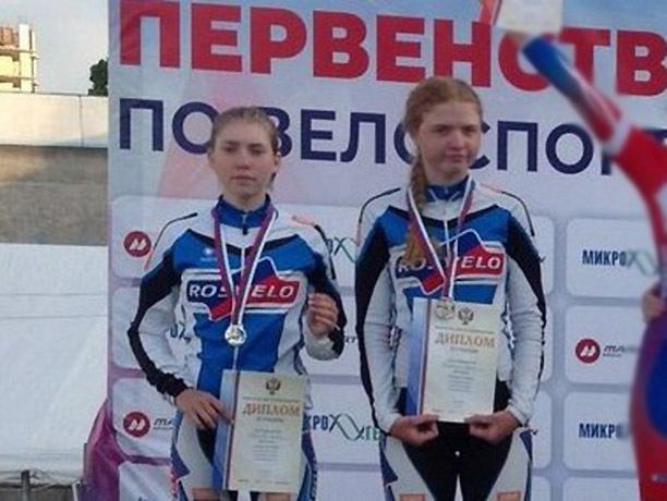 Три «серебра» завоевали шахтинские велосипедистки на первенстве России