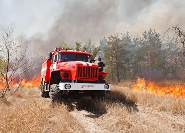 На выходные в Шахтах ожидается чрезвычайная пожароопасность