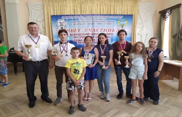 Шахтинские шашисты привезли награды из Цимлянска