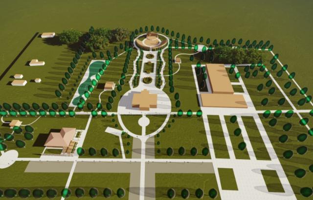 Сквер в поселке Артем реконструируют к 1 сентября