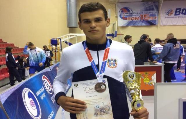 Шахтинский каратист стал призером Всероссийской спартакиады