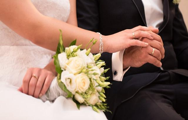 В Шахтах пары вступили в брак в День семьи, любви и верности