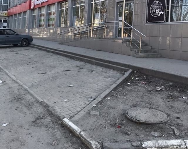 «Дыра, пыль и грязь», - оценили состояние улицы Пушкина жители Шахт