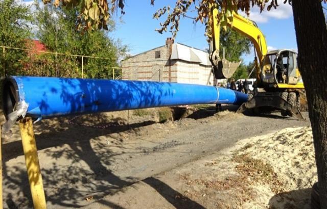 В Шахтах обновили водопроводные сети на 16 километров