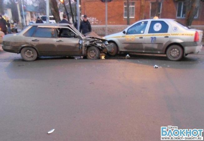 В Шахтах пьяный водитель спровоцировал тройное ДТП