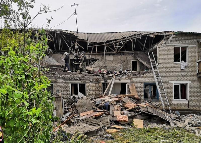 Взрыв газа в жилом доме в Ростовской области. Фото и видео с места трагедии