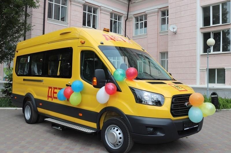 Главная спортшкола города наконец-то получила автобус