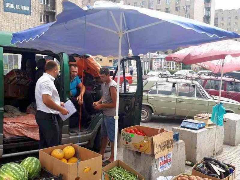 Шахтинцев наказали за торговлю на рынке. На рынке?!