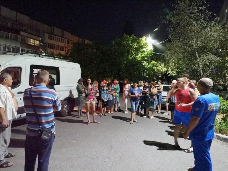 В администрации города назвали причину ночного ЧП на Хабарова