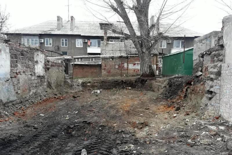В поселке Нежданная ликвидировали свалку на месте старой разрушенной котельной