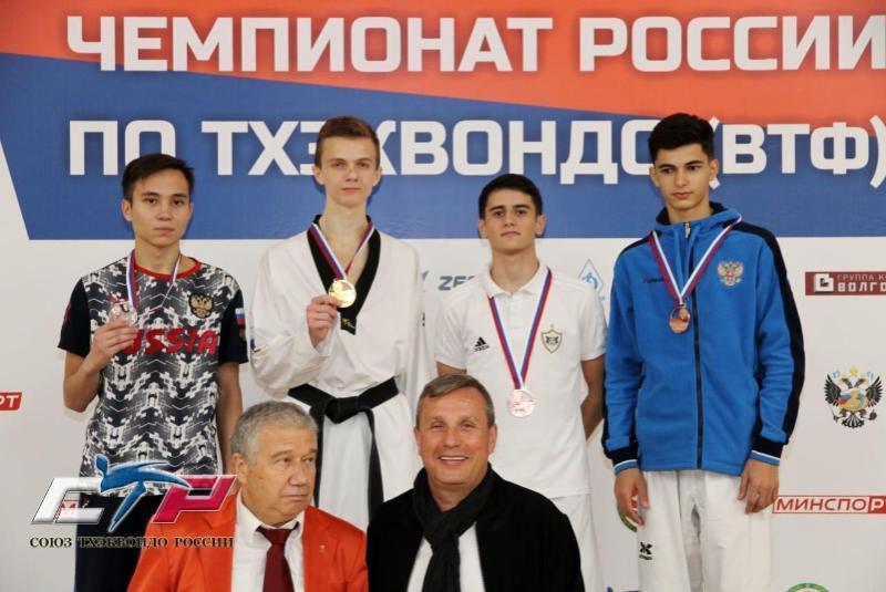 Шахтинец Дмитрий Шишко стал чемпионом России среди взрослых