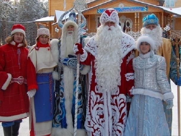 ТОП-5 Дедов Морозов популярных в России