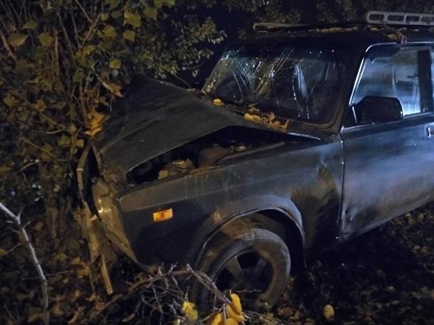 Пьяный водитель влетел в дерево и покалечил ребенка в Шахтах