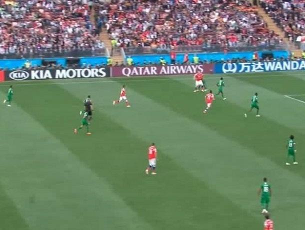 Сборная России разгромила Саудовскую Аравию всухую 5:0